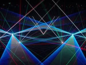 Spezialeffekte - hier Lasershow