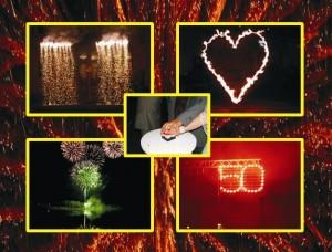 Feuerwerkbeispiele zu den Referenzen